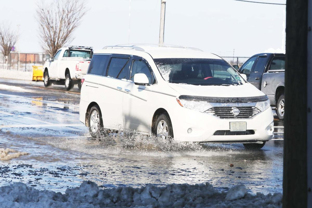 Albany Avenue water main break