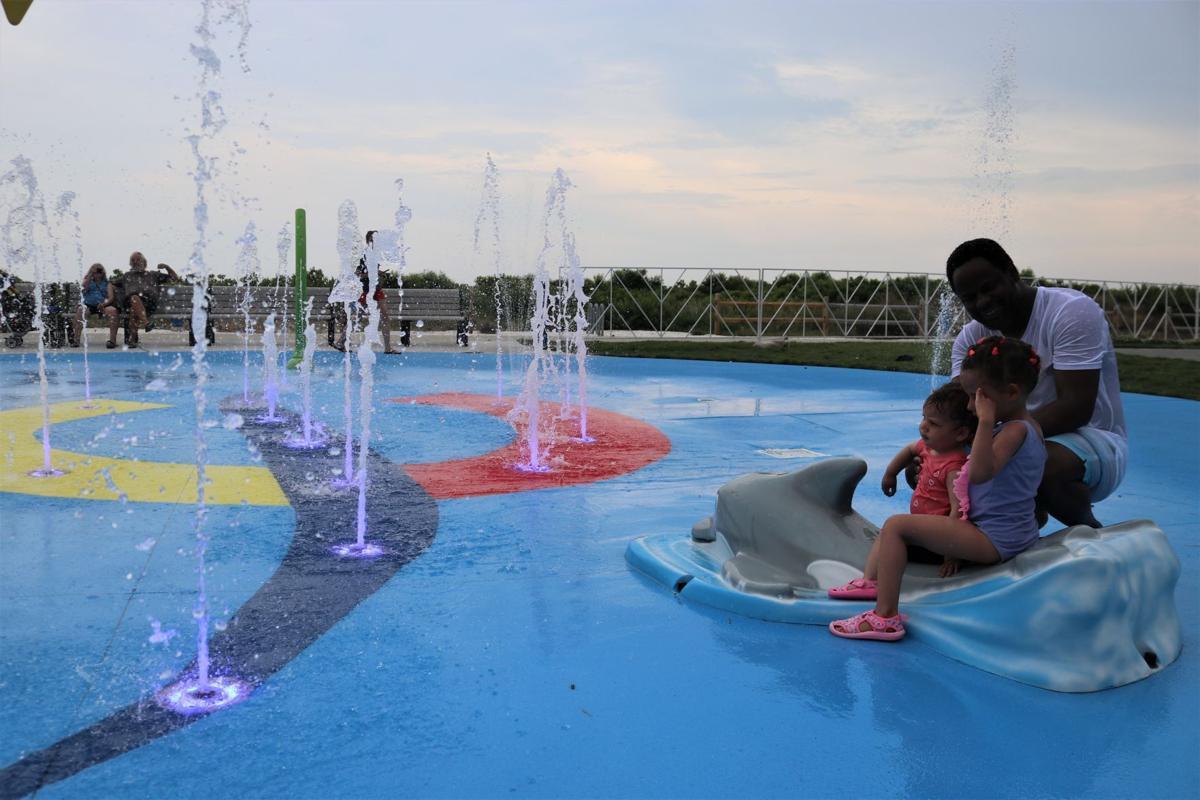 splash_Leonard Mbah and daughters