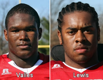 Max Valles and Kaiwan Lewis