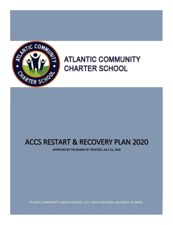 Atlantic Community Charter School reopening plan