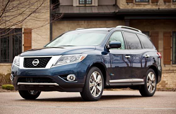 2014 Pathfinder: Nissan Travels the Hybrid Path