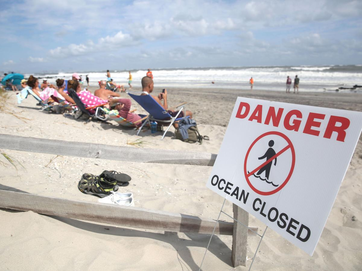 Photo gallery of Hermine in South Jersey Sunday