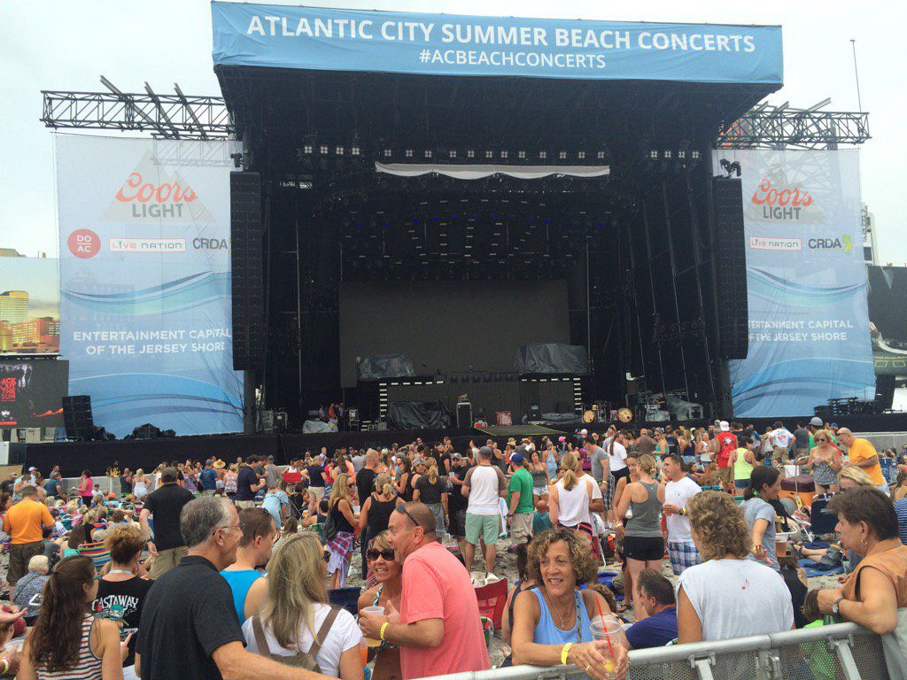 Zac brown band concert kicks off big weekend for atlantic city zac brown band concert m4hsunfo