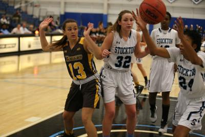 Stockton vs Rowan women college basketball