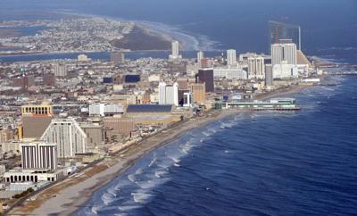 Atlantic City skyline icon
