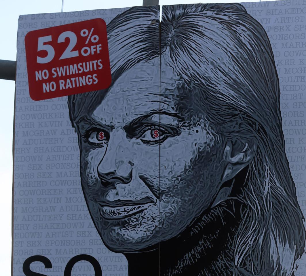 'So Fake' Carlson posters appear in Atlantic City