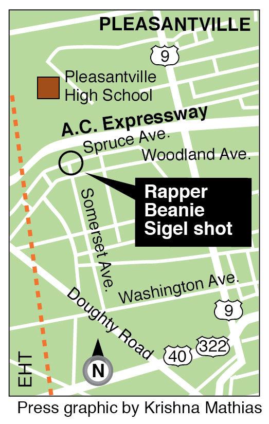 Beanie Sigel shot Pleasantville 12-5-2014