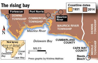 Rising Delaware Bay