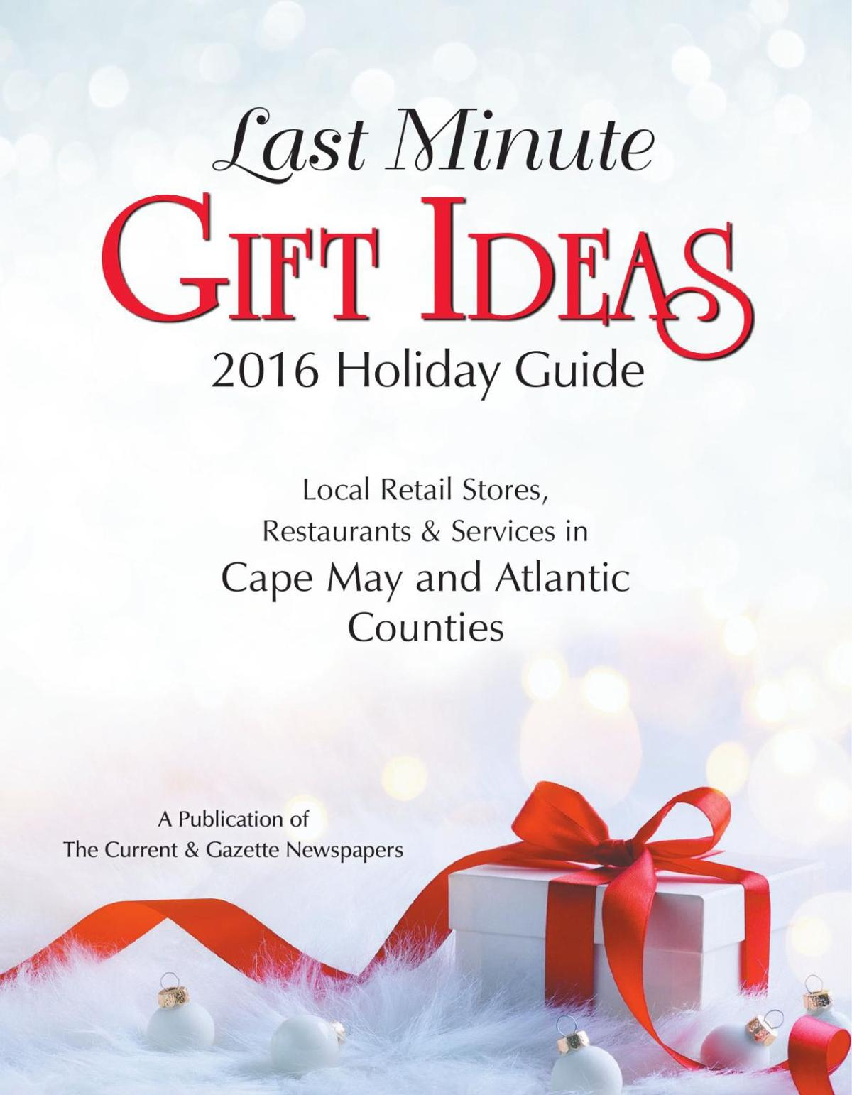 Lat Minute Gift Ideas