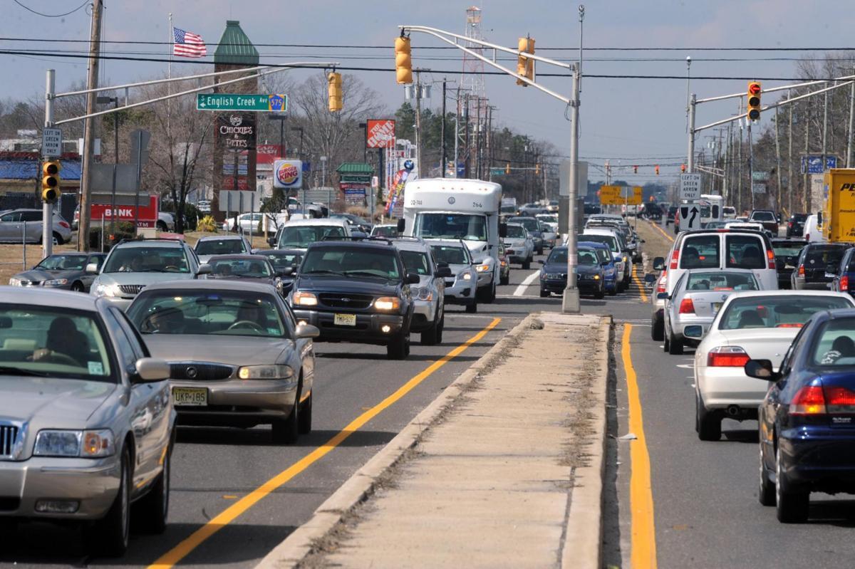 Egg Harbor Township traffic advisories