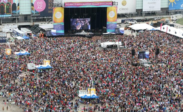 Blake Shelton Beach Concert Events