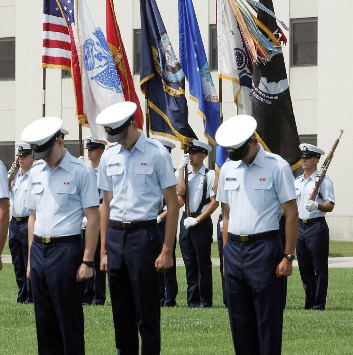 Coast Guard Graduation