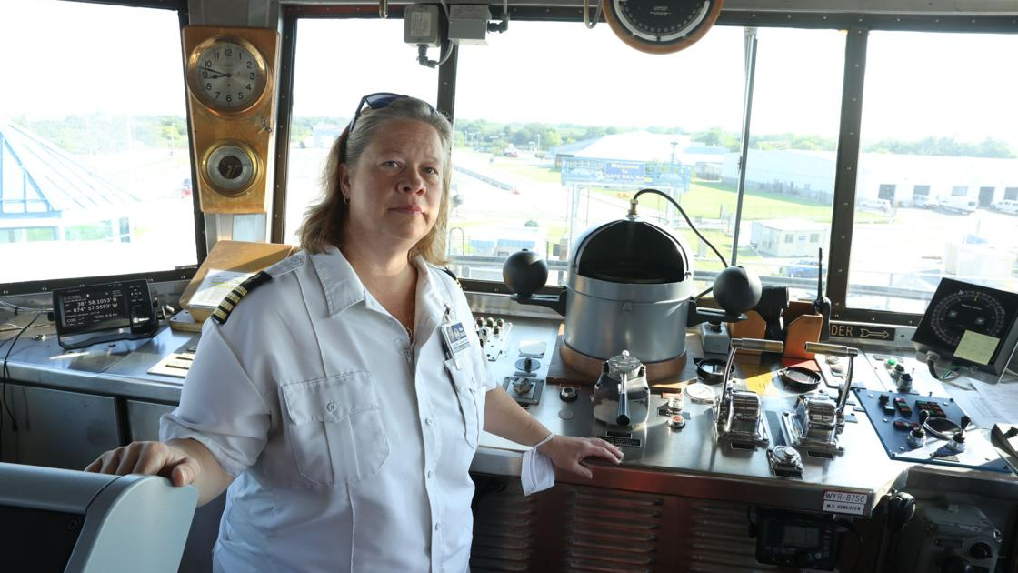 Cape May-Lewes Ferry promotes first female captain