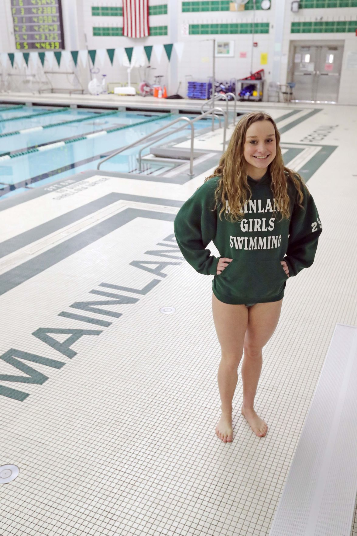 Mainland's Press Swimmers of the Year