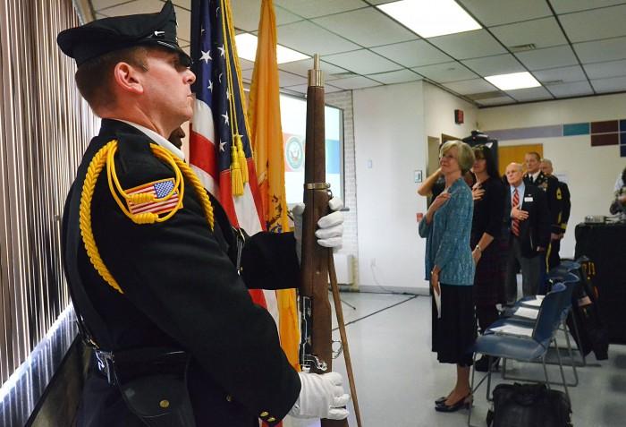 vet ceremony