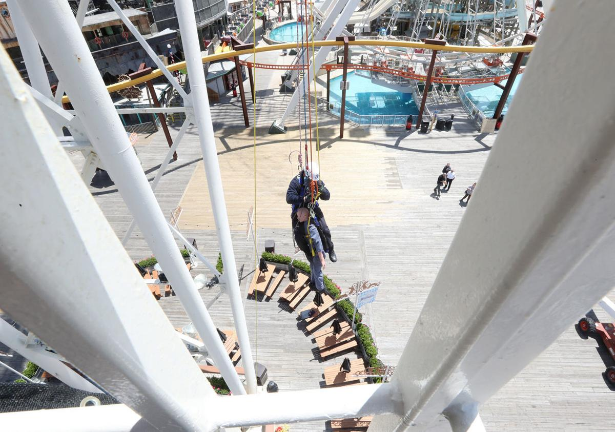 Wildwood Boardwalk High Rescue Drill