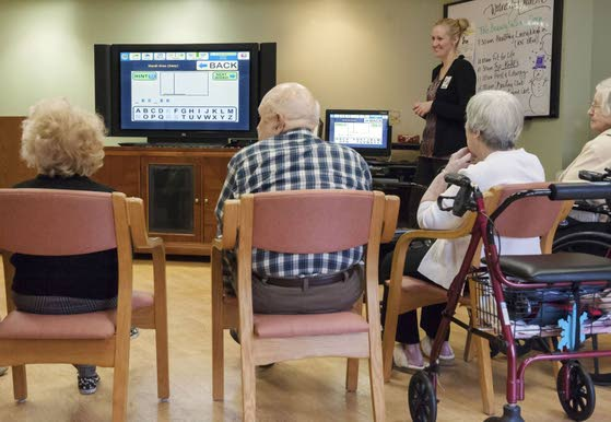 Residential care for elderly is moving into digital age