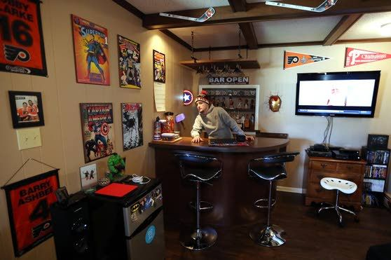 Man caves more for just the one man