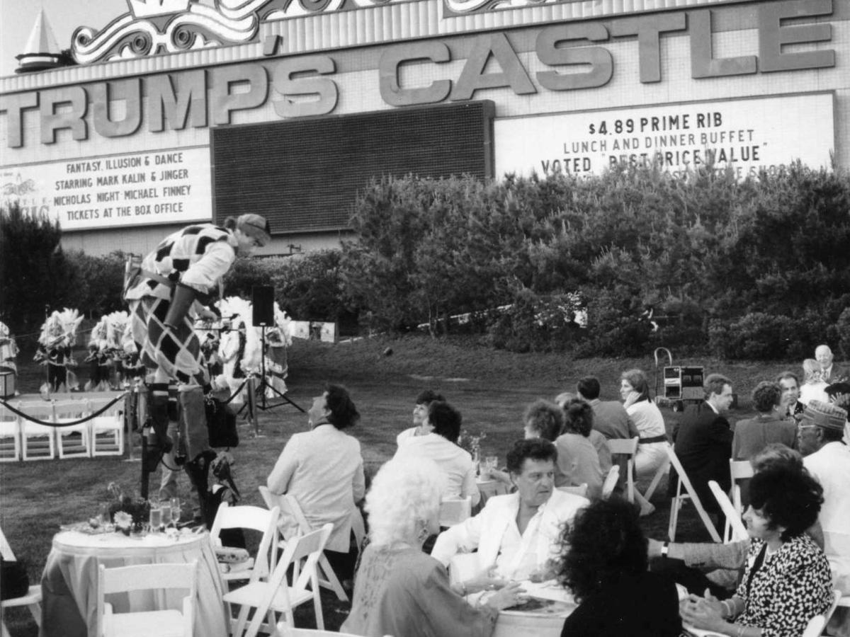 The time Donald Trump almost lost Trump Castle
