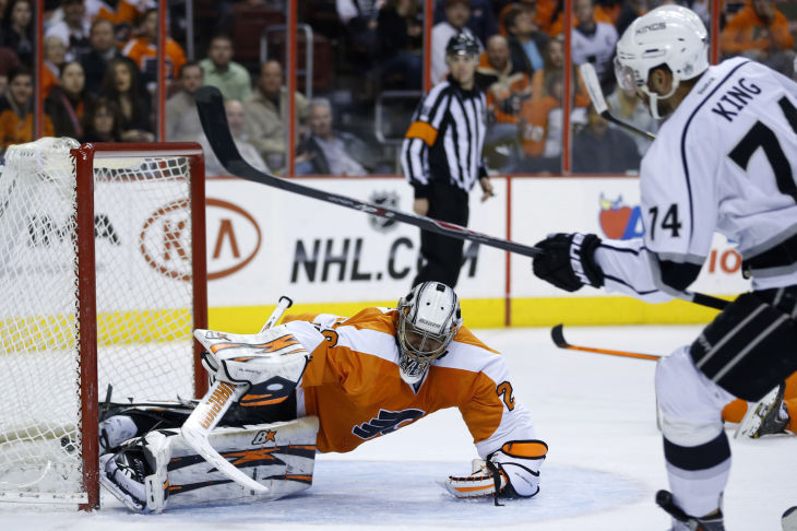 Flyers fall to Kings