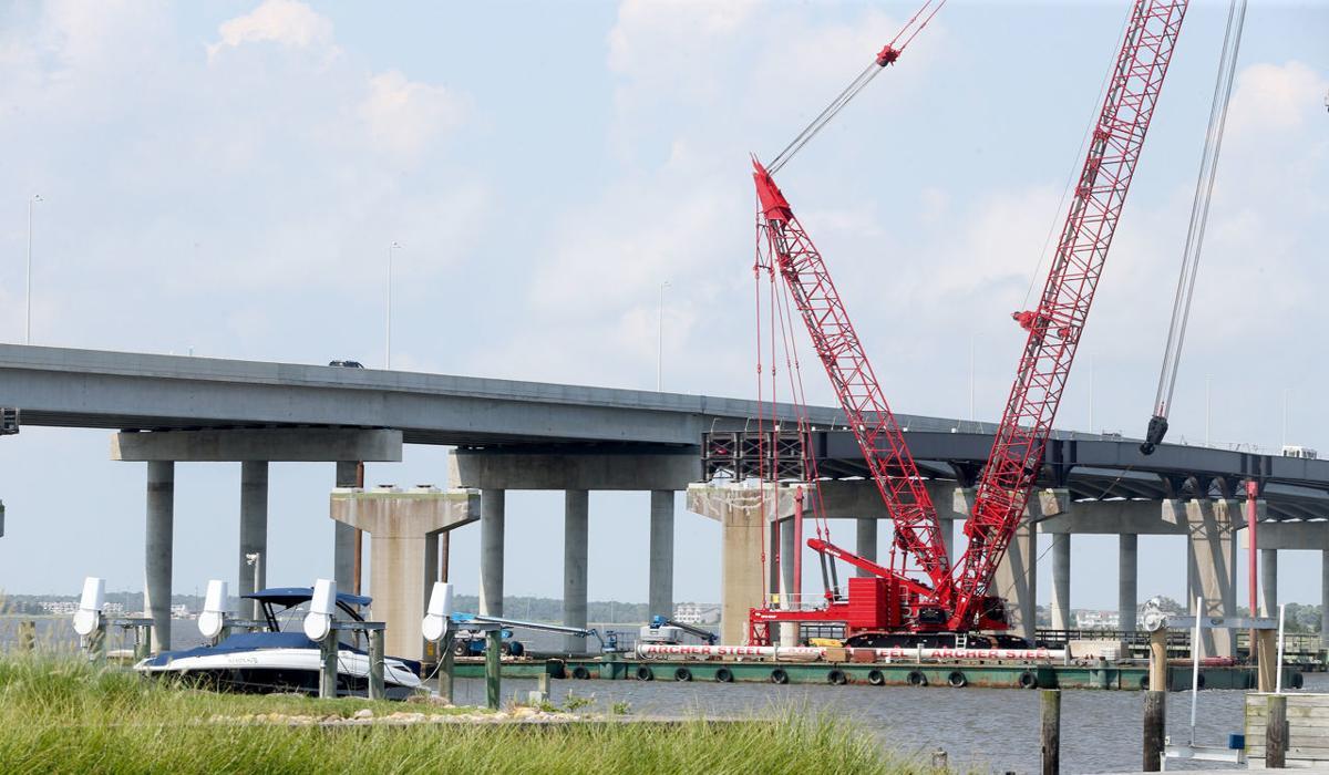 Construction Parkway Bridge Bike Path