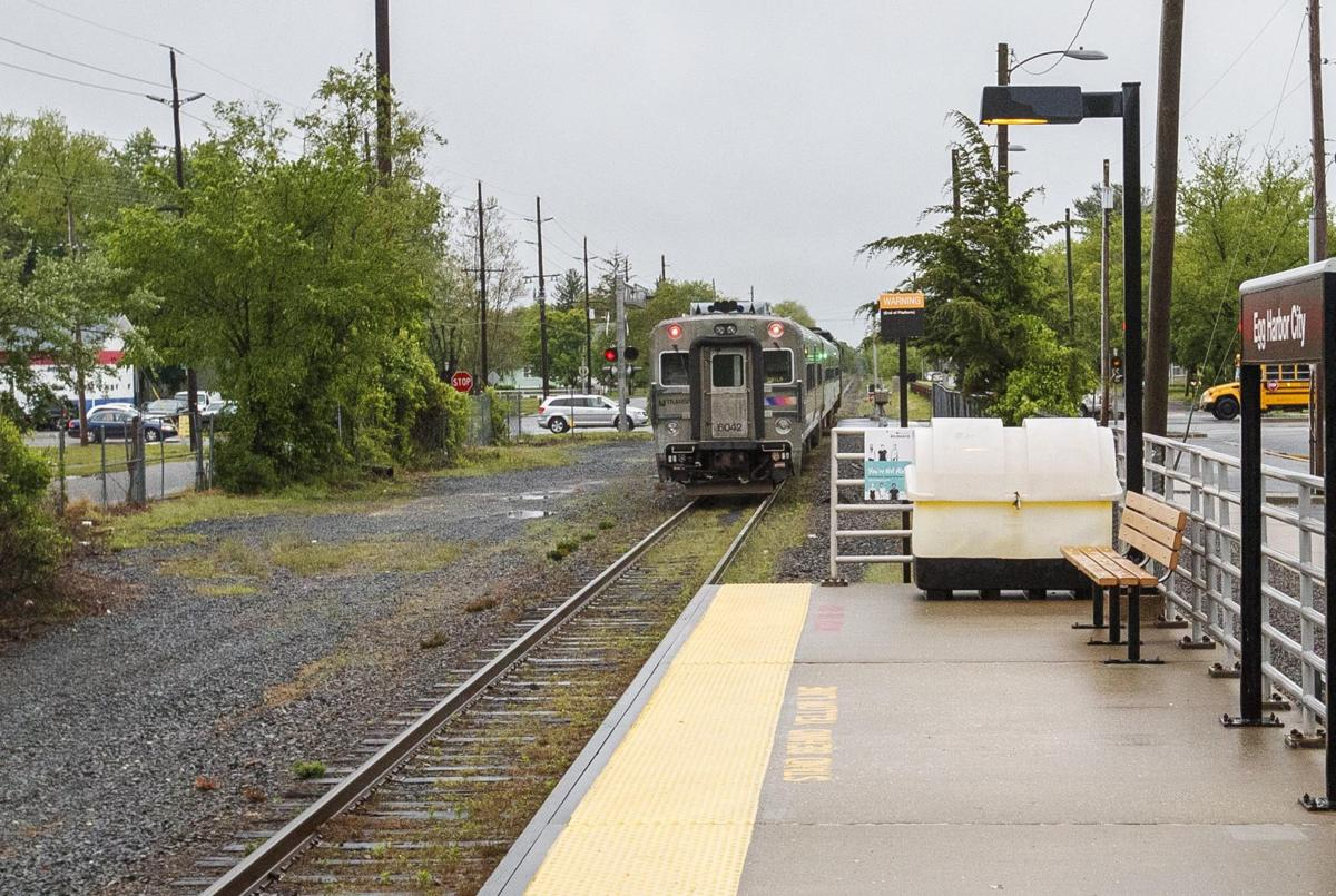 Commuters glad to be back on Atlantic City Rail Line