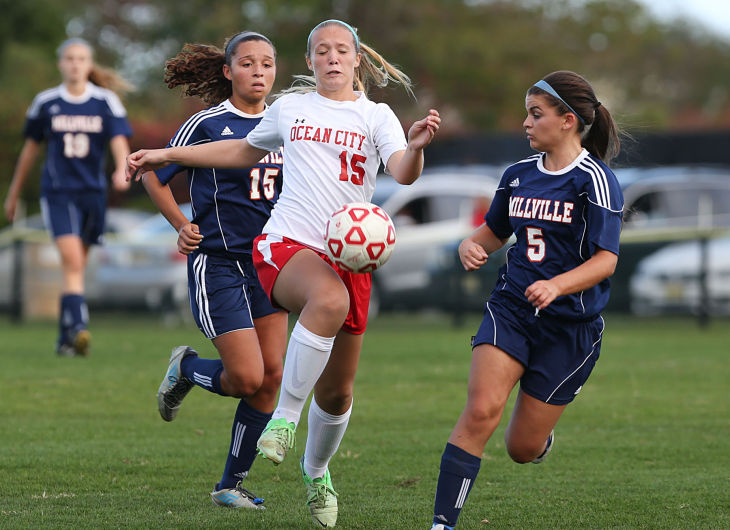 millville ocean city girls soccer