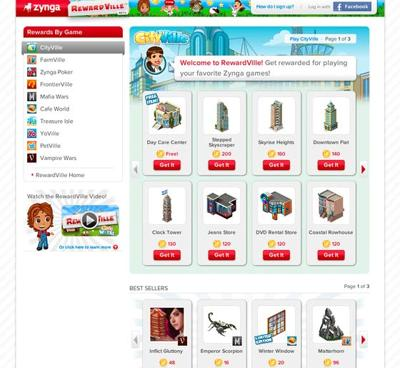 Multimedia: With rewards, Zynga hopes to get you (more) hooked