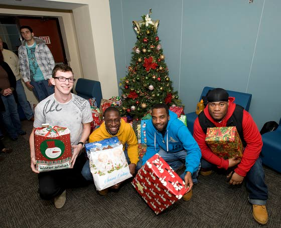 Local families help fill wish lists of residents at Covenant House