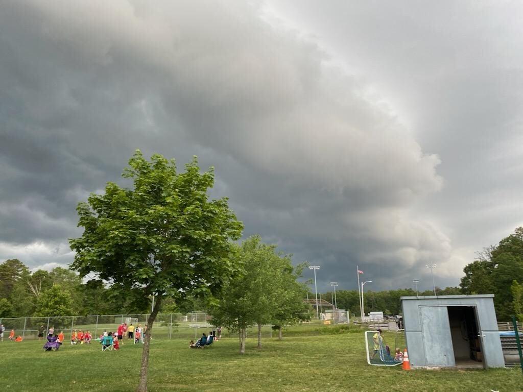Thunderstorm Cloud Egg Harbor Township