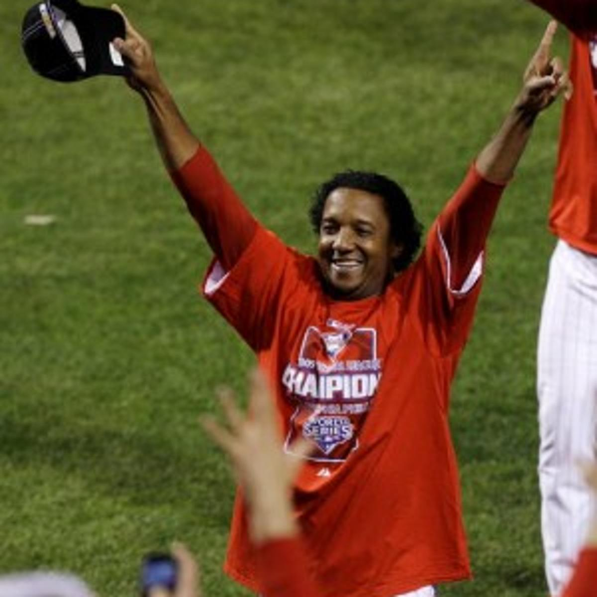 pretty nice a92ac aea46 Pedro could be Phillies' Game 2 starter in N.Y.   South ...