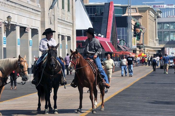 Cowboys On Boardwalk