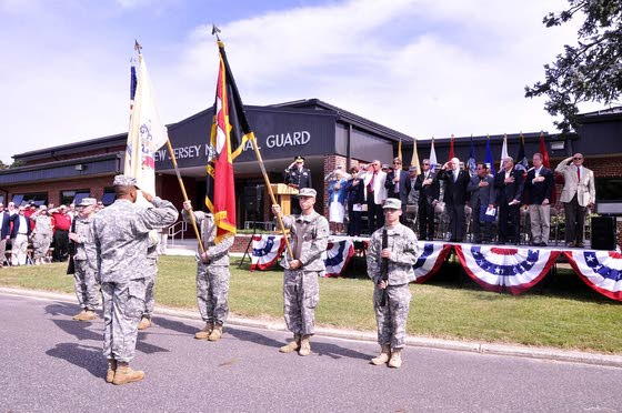 Armory dedicated to Wildwood native who led Guard division for 19 years