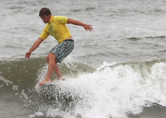 Surf's up at Chip Miller charity event
