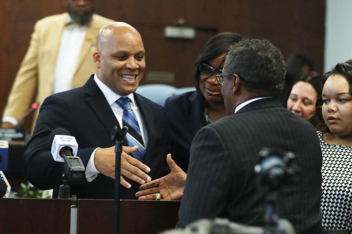 Gilliam sworn-in as AC mayor
