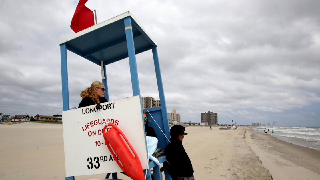 Rip current alert in effect for South Jersey Saturday