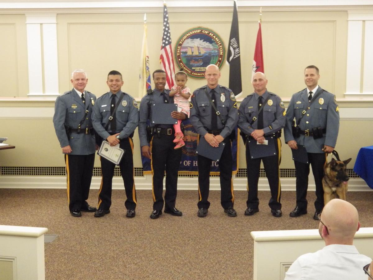 Hamilton Township Police Department awards officers and