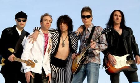 Aerosmith Tribute Band Draw The Line Walks This Way Into Golden
