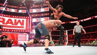 WWE Seth Rollins John Cena