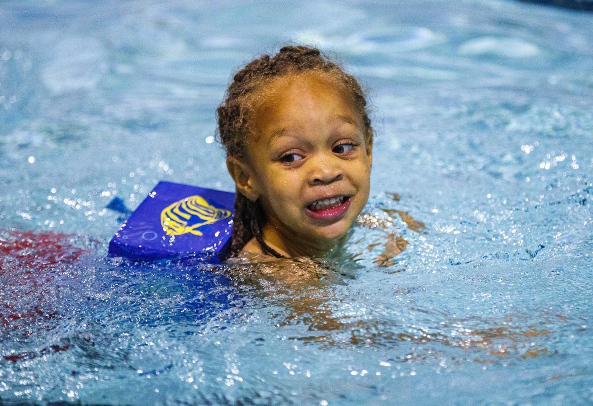 Whelan's Whales swim lesson