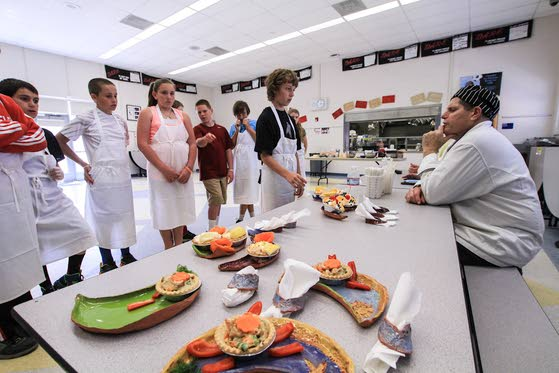 Iron Chef competition has fifth-graders in Avalon thinking culture and cuisine