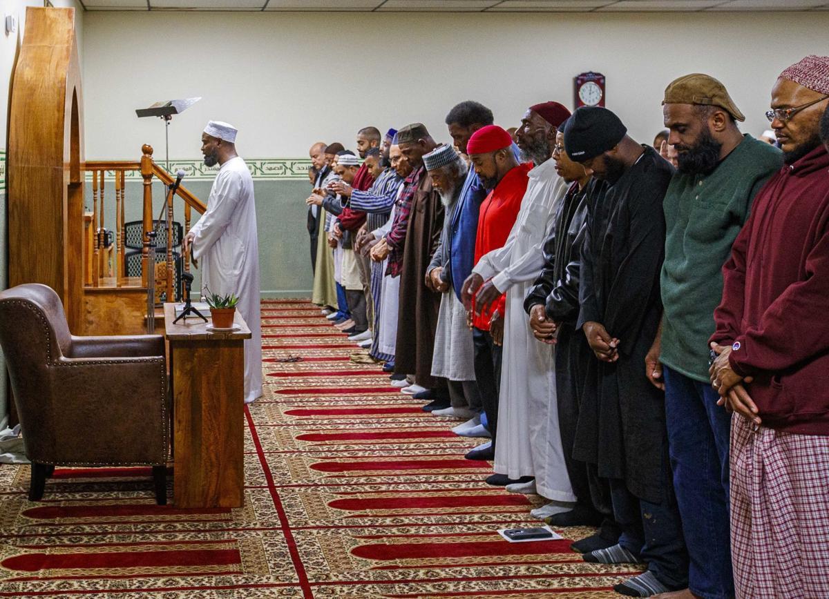 Muslim Jumah prayer
