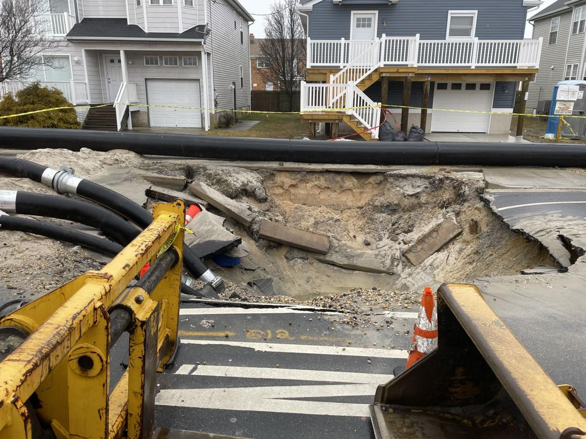 Bypass line successfully activated for Wellington Avenue sewer repairs