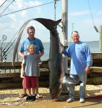 Shep On Fishing Nine Year Old Has Busy Day Off Long Beach Island