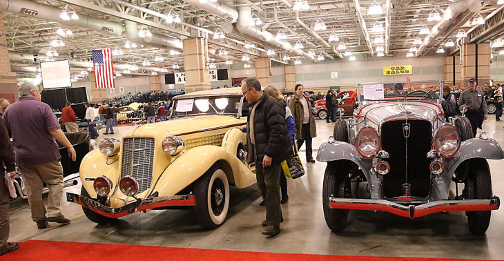 auction steers 70 000 to classic car show at a c convention center money. Black Bedroom Furniture Sets. Home Design Ideas