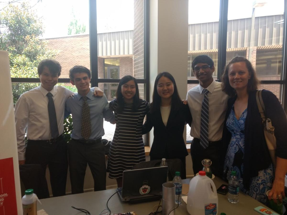 Oakcrest senior presents research at Governor's School of Engineering and Technology