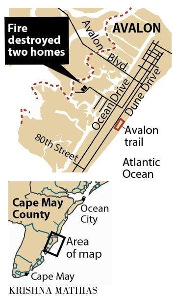 Avalon house fire map 3-2017