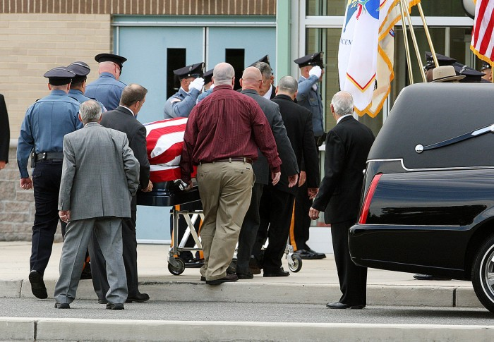 Funeral for Millville police officer Christopher Reeves ...