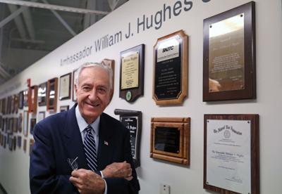 William Hughes former US Ambassador and Congressman who is recei