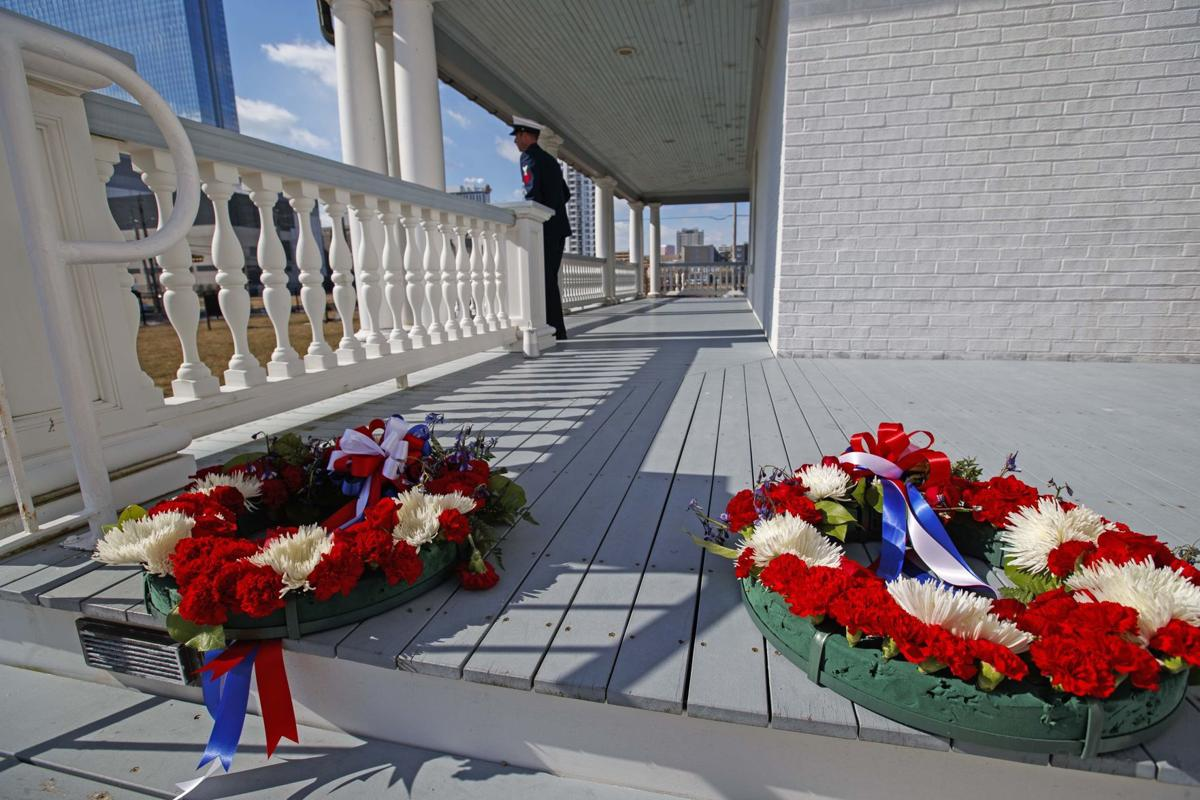 U.S. Coast Guard in remembrance at Absecon Lighthouse